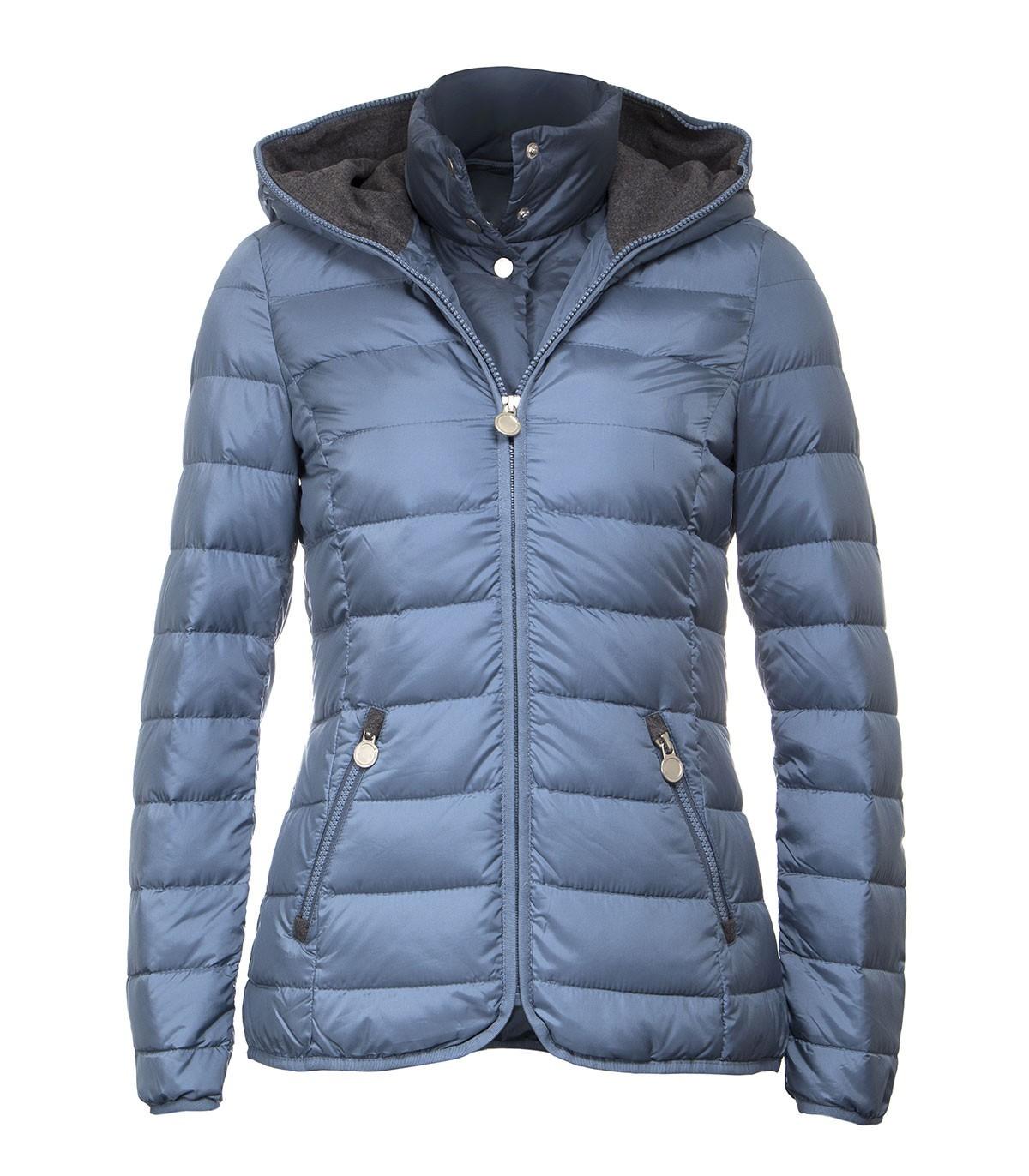 Women s lightweight rain jacket with detachable hood c8e40086dce8