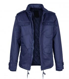 Men's casual zip front travel jacket